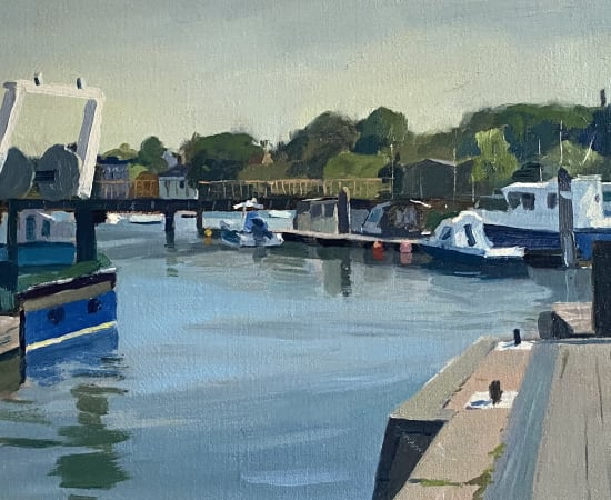 Daisy Sims Hilditch, Boats at Lymington Harbour