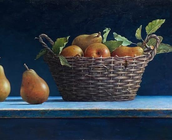 Lion Feijen, A Basket of Pears