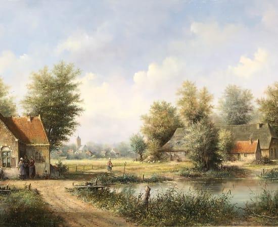 Lion Feijen, Dutch Landscape