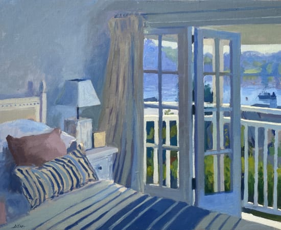 Daisy Sims Hilditch, Hazy Light, Cornish Interior