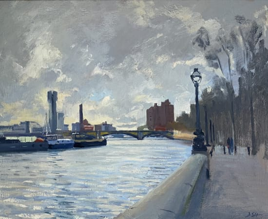 Daisy Sims Hilditch, Lots Road Powerstation