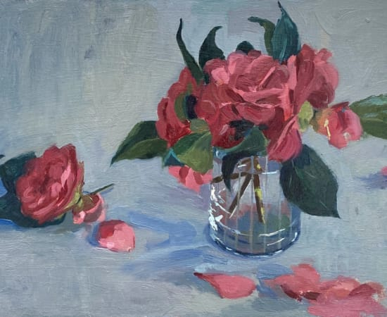 Daisy Sims Hilditch, Camellias from the Garden