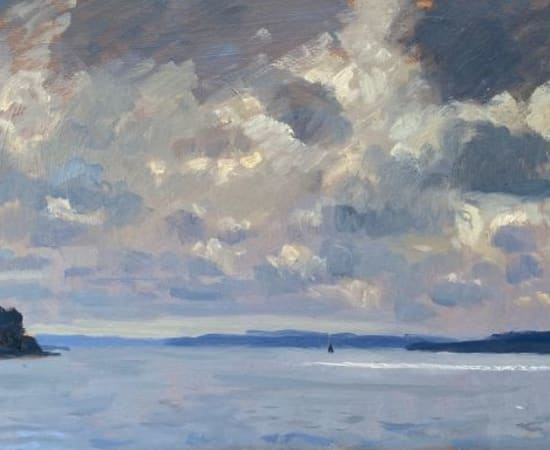 Daisy Sims Hilditch, Storm clouds over Pendennis Castle