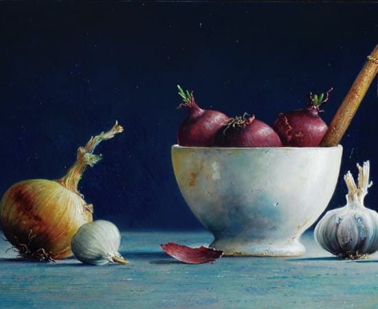 Lion Feijen, Onions and Garlic
