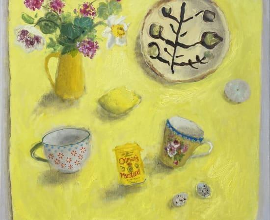 Gillian Gathercole, Spring Flowers & Tina Sanderson's Plate