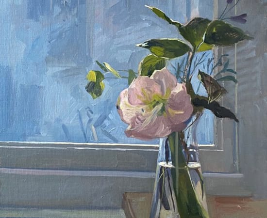 Daisy Sims Hilditch, Flowers on the Studio Windowsill