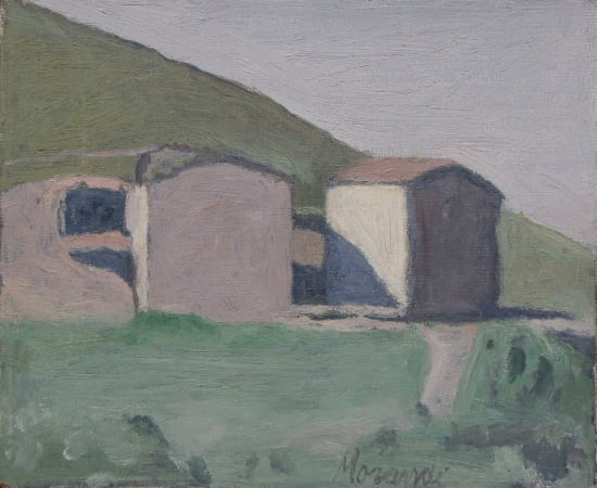 Giorgio Morandi, Paesaggio, 1960