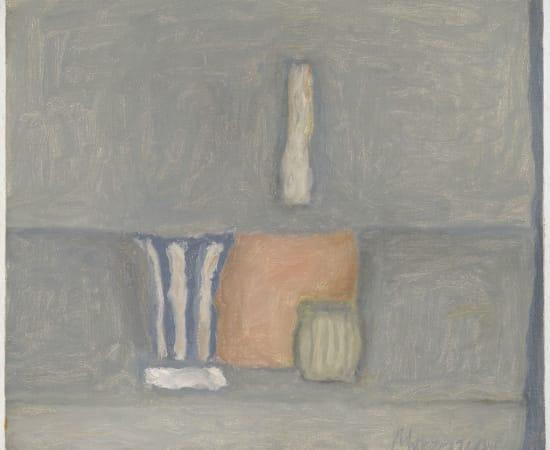 Giorgio Morandi, Natura morta , 1960