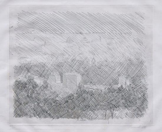 Giorgio Morandi, Landscape (Pianura di Bologna), 1929