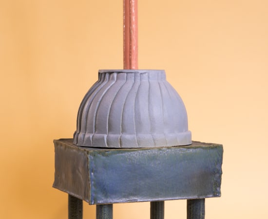 Kiki van Eijk, Ceramics - Blue Dream