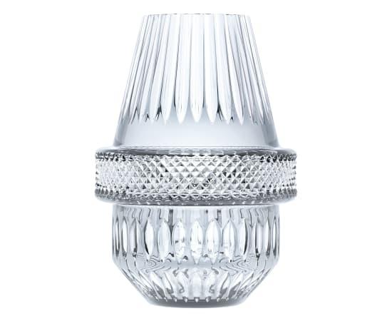 Kiki van Eijk, Saint Louis vase - crystal clear