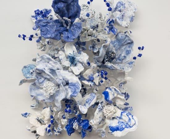 Stefan Gross, Flower Bonanza - Delfts Blauw III
