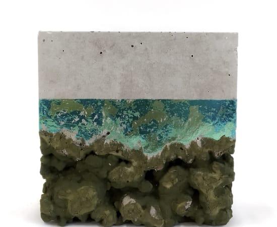 Esther Hoogendijk, Unpacking - Green Blue