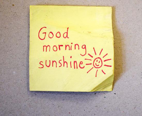 Jessi Strixner, Post its - Good morning sunshine