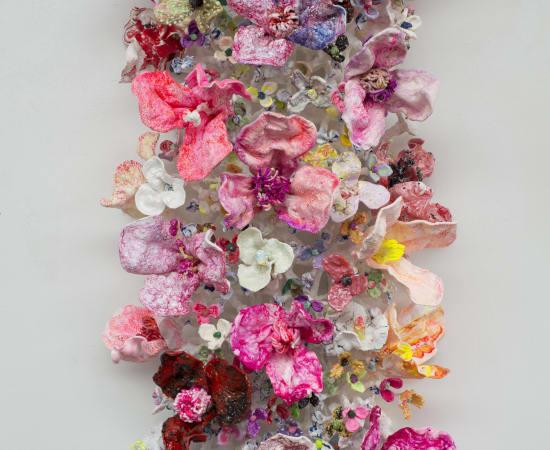 Stefan Gross, Flower Bonanza - Pink