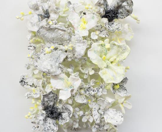 Stefan Gross, Flower Bonanza - glow-white
