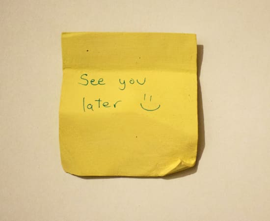 Jessi Strixner, Post its - See you later