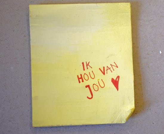 Jessi Strixner, Post its - Ik hou van jou