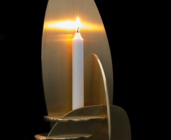 Joost van Bleiswijk, Interlocking Panels - Candle holder 2