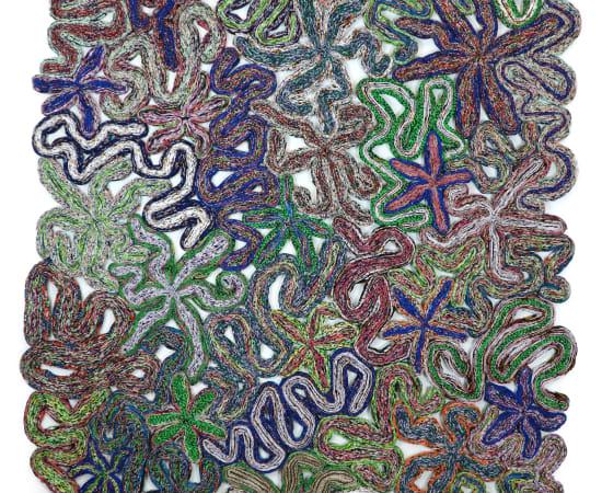 Simone Post, Wildflowers - Green Rivers