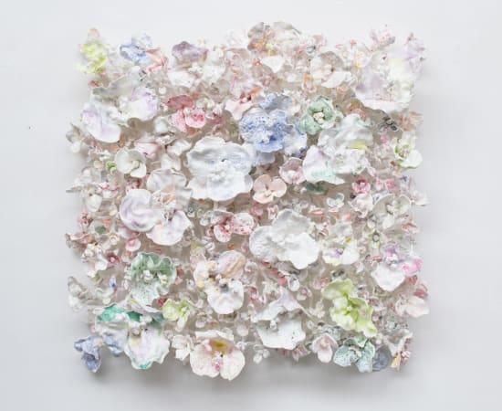 Stefan Gross, Flower Bonanza - Rococo white