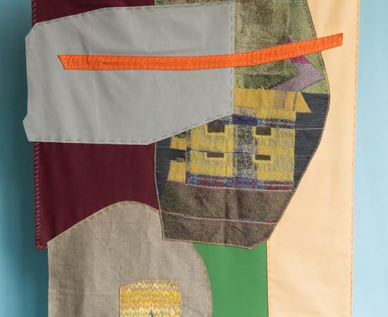 Kiki van Eijk, Collage wall hanging - II
