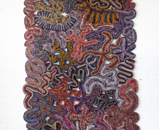 Simone Post, Wildflowers - Purple Meadow