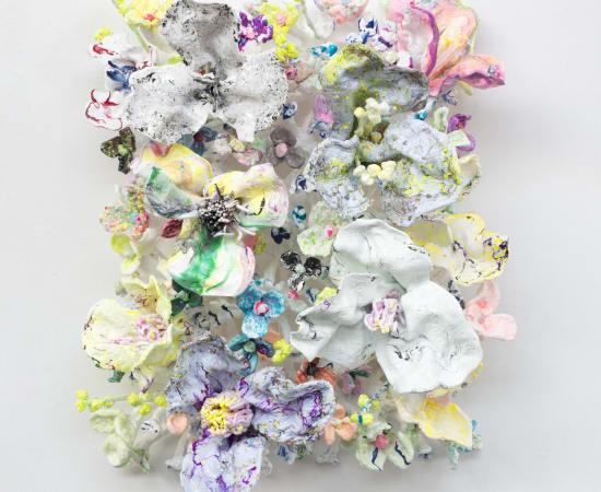 Stefan Gross, Flower Bonanza - pastel