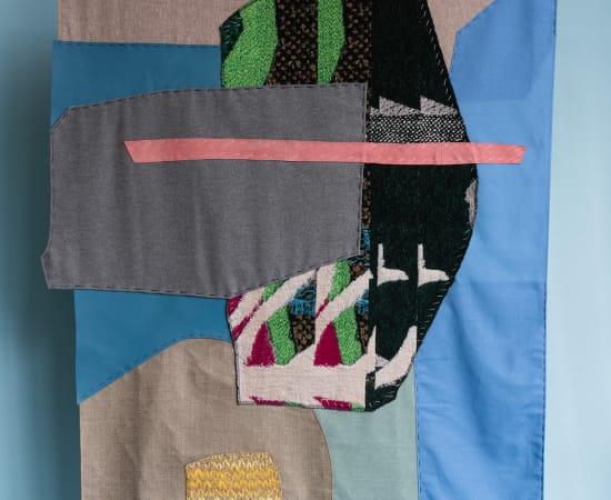 Kiki van Eijk, Collage wall hanging - III