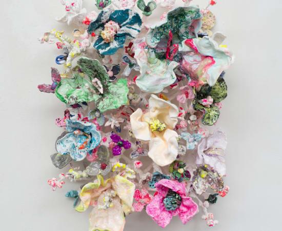 Stefan Gross, Flower Bonanza - Pink Pastel
