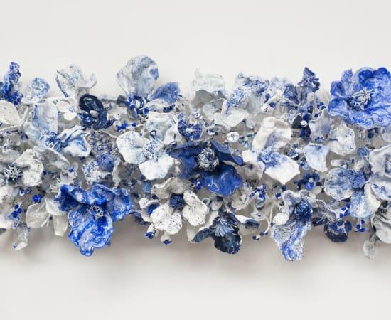 Stefan Gross, Flower Bonanza - Delfts Blauw I