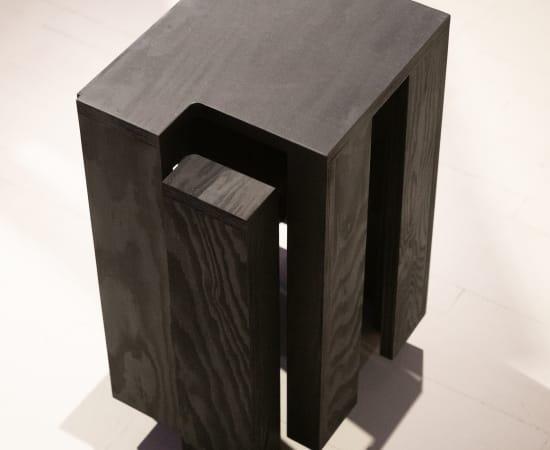 Bram Vanderbeke, Sukraunamos kėdės / Stackable Stools, 2017