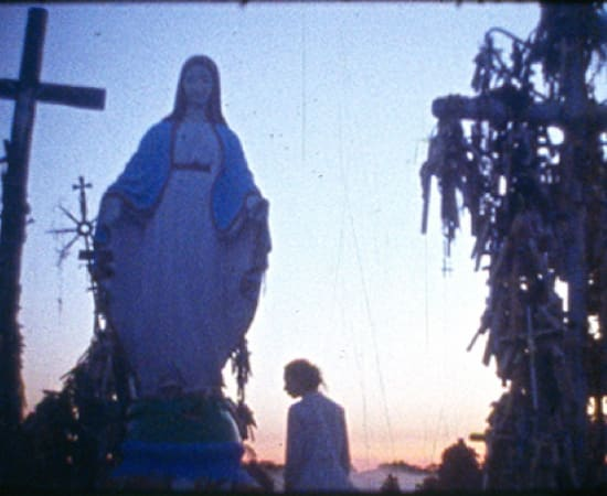 Laura Garbštienė, Frames from a film about an unknown artist. Hill of Crosses, 2010