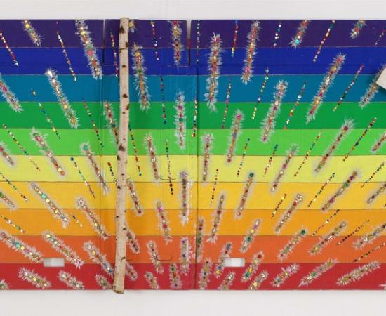 Ričardas Nemeikšis, A Landscape of Color Spectrum and Positive Thinking, 2014