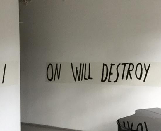 Ieva Rojūtė, Abstraction Will Destroy You, 2017
