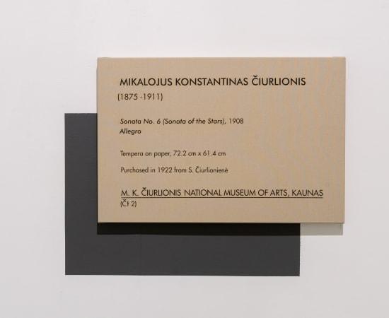 Dag Erik Elgin, La Collection Moderne (Ciurlionis Sonata No 6 / Sonata of the Stars)