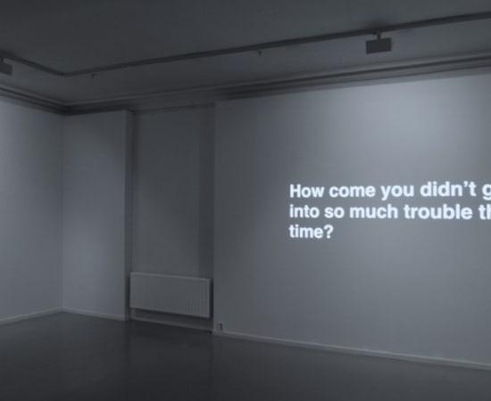 Ignas Krunglevičius, Narrative with an unexpected outcome, 2011