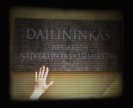 Laura Garbštienė, Film about unknown artist, 2009