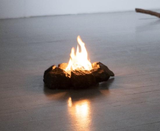 Ariel Schlesinger, Untitled (Campfire), 2017