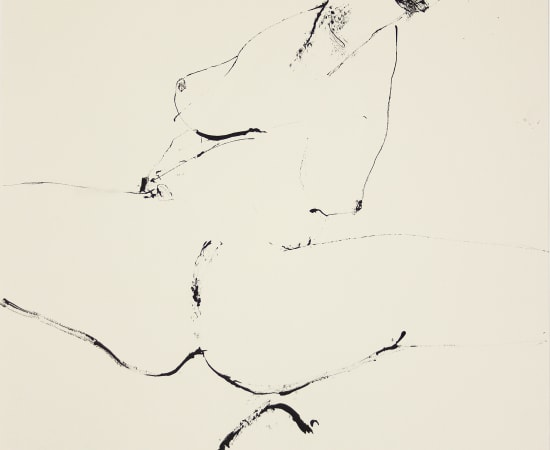 Reszegh Botond, Mirage and Damnation (Nude III), 2017