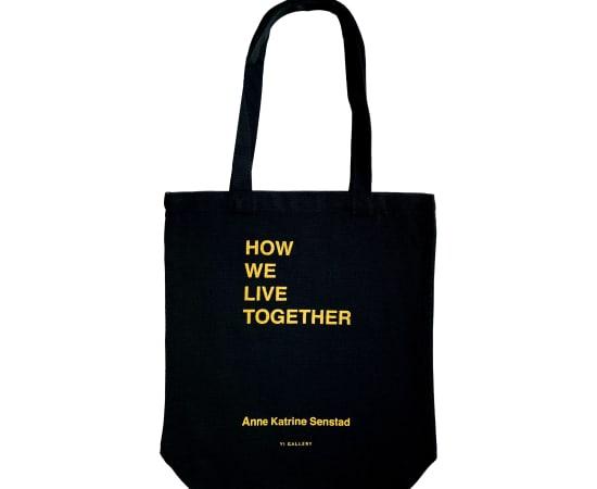 Anne Katrine Senstad, How We Live Together Tote Bag, 2020