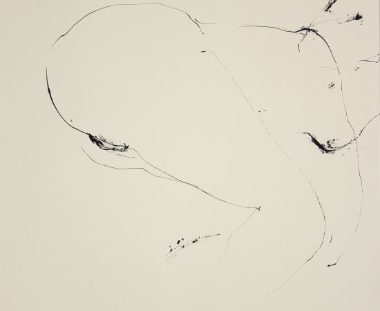 Reszegh Botond, Mirage and Damnation (Nude I), 2017