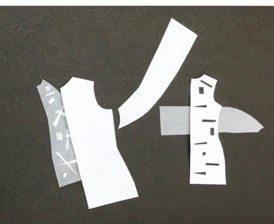Victoria Borisova, Pattern Obsession Collage 5 (Framed), 2016