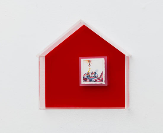 In Kyoung Chun, Red House, 2021