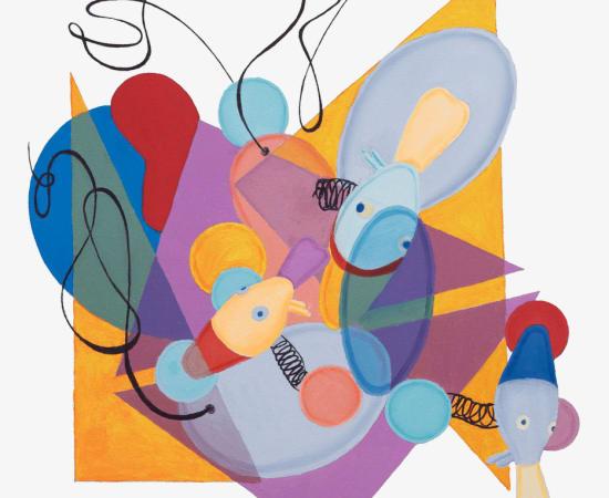 Carolyn Oberst, Ducks in Flux 3, 2013