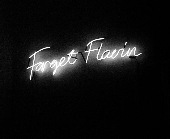 Anne Katrine Senstad, Forget Flavin (NY Version, English), 2008