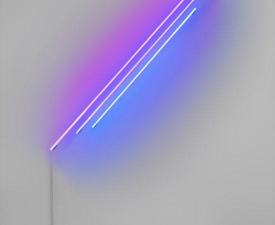 Anne Katrine Senstad, Ascension/Descension Graph 03 (Red + Blue), 2020