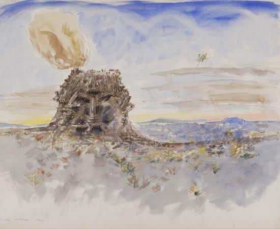 André Masson, Ville crânienne, 1940