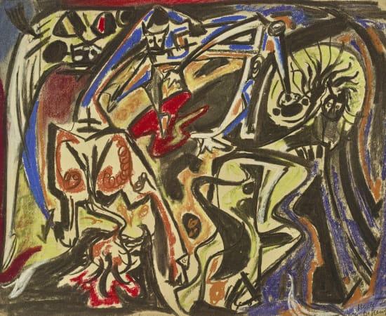 André Masson , Bestiaire, 1943