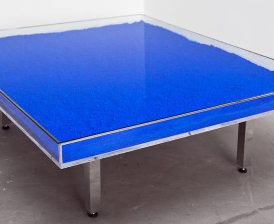 Yves Klein , Blue Table, 1963